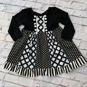 Boutique Girls Ruffle Dress